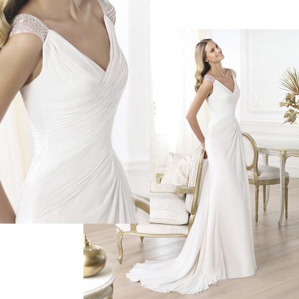 moda novias 2014- coleccion pronovias - blog bodas el mirador