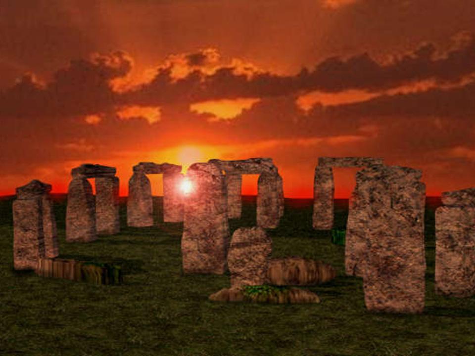 stonehenge-sunset