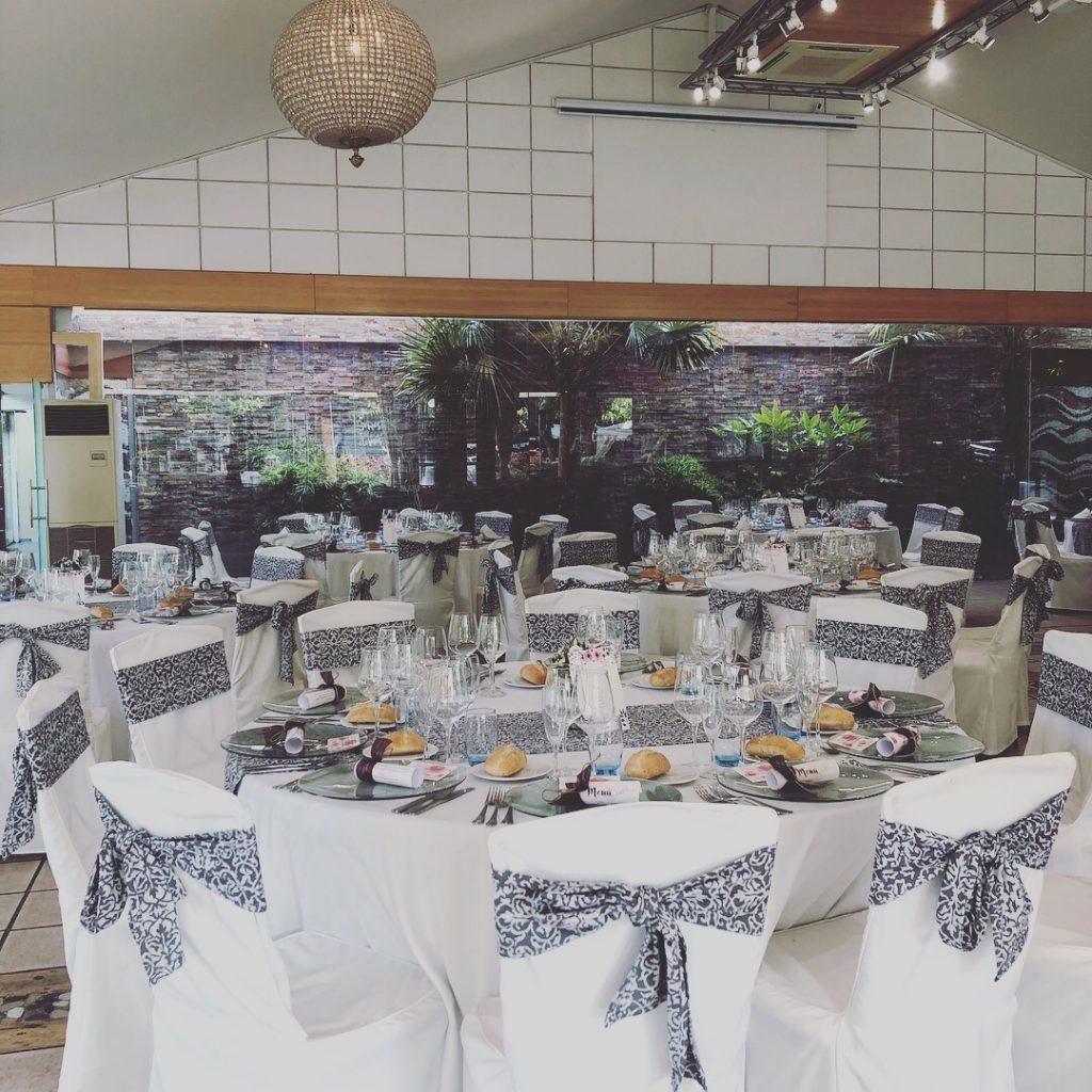 mesa banquete redondas