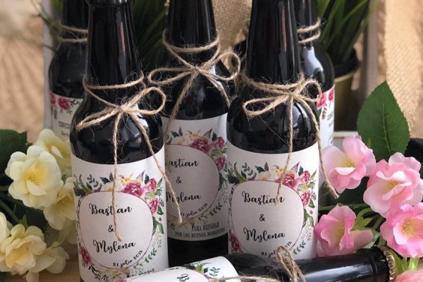 detalle de boda cerveza artesana