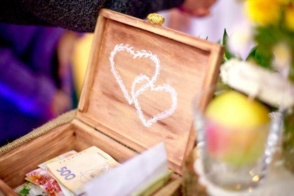 cajita dinero bodas